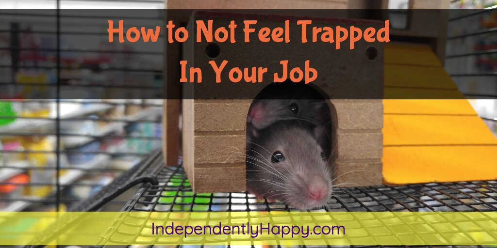 How to Not Feel Trapped in Your Job